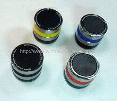 High Quality mini speaker iPhone ipod Laptop MP3 mp4 mini Portable Rechargea