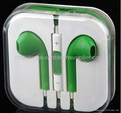 iphone 6 6s5S 5c Earpod 3.5MM  Color Apple EarPods with Remote & Mic ,Color earp