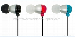 Earphone for cell phone mobile phone ipad ipod iphone samsung