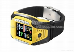 fashion wrist watch phone bluetooth gprs watch christmas day gift