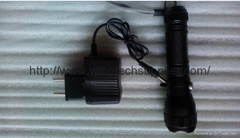 oem cheap best cree q5 led torch for police use with charging charger cree q5 t