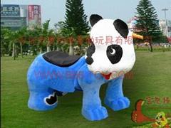 大号熊猫玩具车