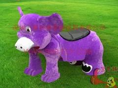 遊樂電動玩具毛絨車