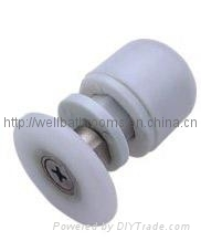 shower enclosure roller or bathroom accessories