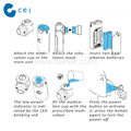 Portable Mesh Nebulizer For Hospital  Medical Instrument Handy Nebulizer Respira 5