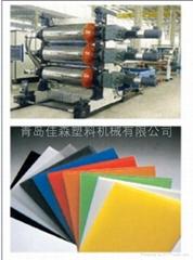 PVC吸塑片材設備