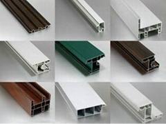 PVC塑鋼門窗異型材生產線