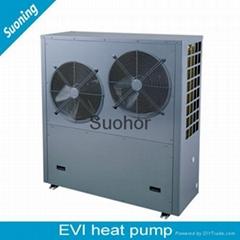 Reliable Quality Split Type 18 KW EVI Air Source Heat Pump
