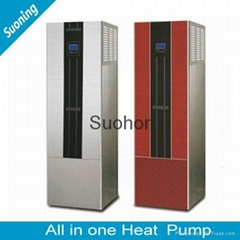 Easy Use AC All in one  Heat Pump air source Water Heater