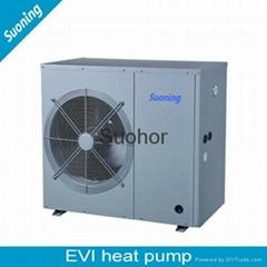 House Use Monoblock EVI Air Source Heat Pump