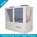 Stainless Steel High COP 4 Swimming Pool Heat Pump 1