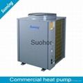 High COP Air Water Air Source Heat Pump