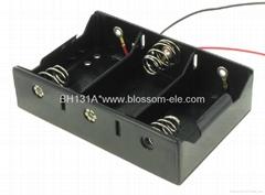 三節一號併排電池盒