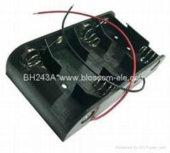 "4 ""C"" Battery Holder(BH243)"