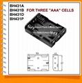 7号3节并排电池盒(BH431