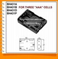 Three AAA Cell Battery Holder(BH431)