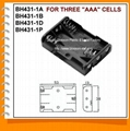 Three AAA Cell Battery Holder(BH431-1)