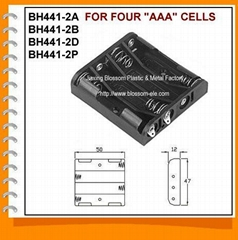 Four AAA Cell Battery Holder(BH441-2)