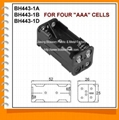 Four AAA Cell Battery Holder(BH443-1)
