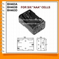 Six AAA Cell Battery Holder(BH463)