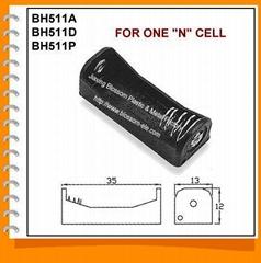 N號1節電池盒/8號單節電池盒(BH511)