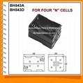 N号4节背靠背电池盒(BH54