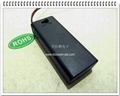 """2 """"AAA"""" Battery Holder with Lid and ON/OFF Switch(SBH-421)"""
