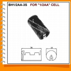 Half AA Cell Battery Holder(BH1/2AA-3S)