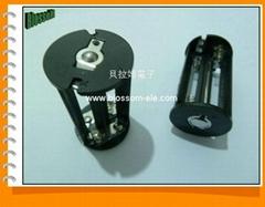 5号4节LED电池架(CBH5004)