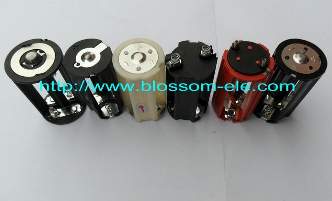 3aa Led Cylindrical Battery Holder For Torch Cbh5003