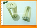 3AA LED Cylindrical Battery Holder for