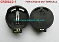 鈕扣電池座(CR2032-2-