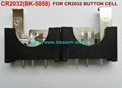 鈕扣電池座(CR2032)BK-5058