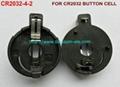 钮扣电池座(CR2032-4-