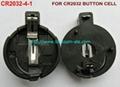 鈕扣電池座(CR2032-4-