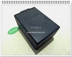 六節五號背疊帶蓋安全電池盒
