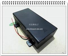四节一号带盖安全电池盒