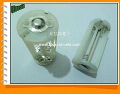 7号4节LED电池架(CBH7006)