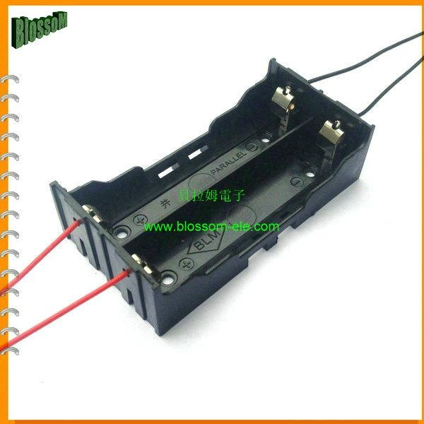 18650鋰電池電池座(雙節並聯) 5