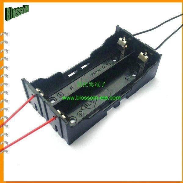 18650 Battery Holder for Li-ion 2X18650 Battery  5