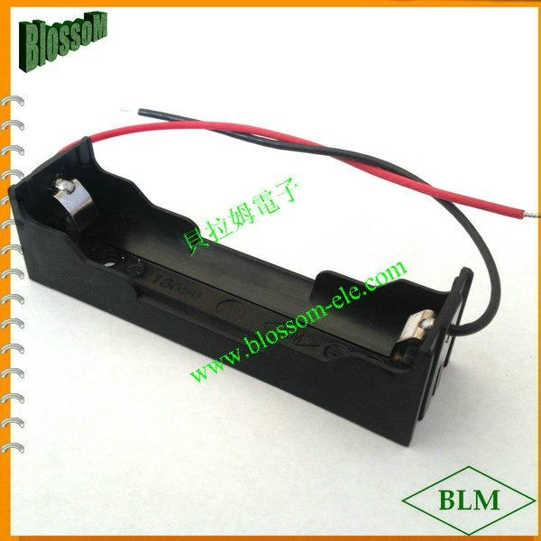 18650 Battery Holder for lithium 1X18650 Cell 2