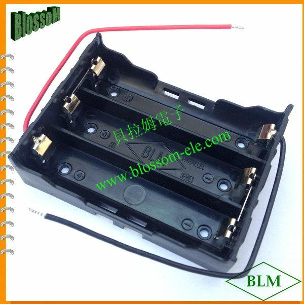 18650 Battery Holder Lithium 3X18650 Cells 4