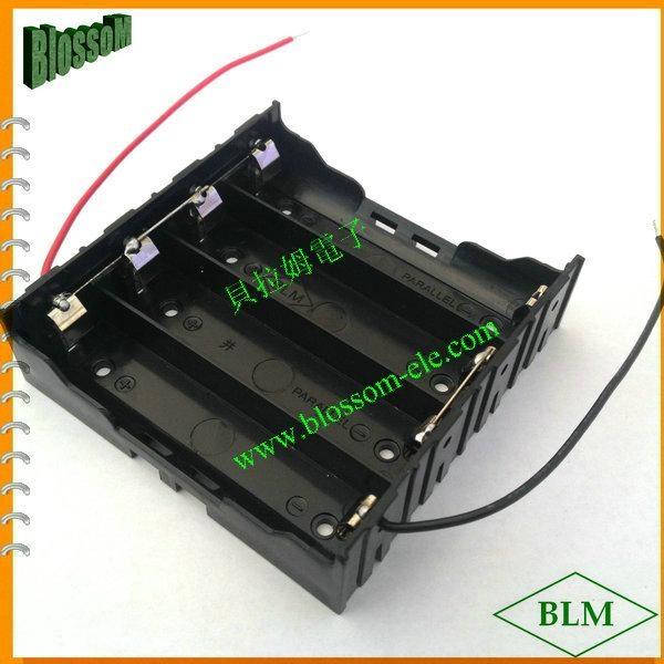 18650鋰電池電池座(四節並聯) 3