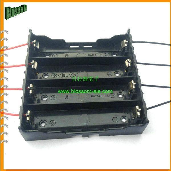 Battery Holder for Li-ion 4X18650 Size Battery  5
