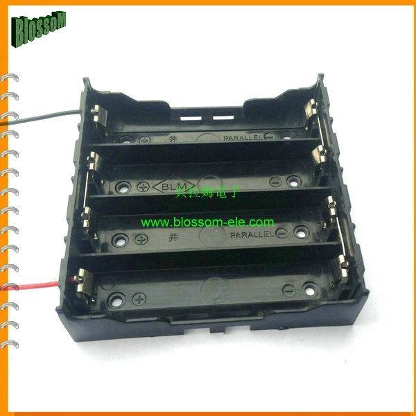 18650鋰電池電池座(四節並聯) 4