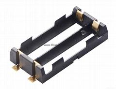 贴片式18650锂电池盒双节