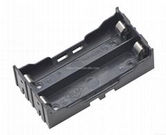 18650锂电池电池座(双节并联)