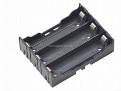 18650鋰電池電池座(三節並聯)