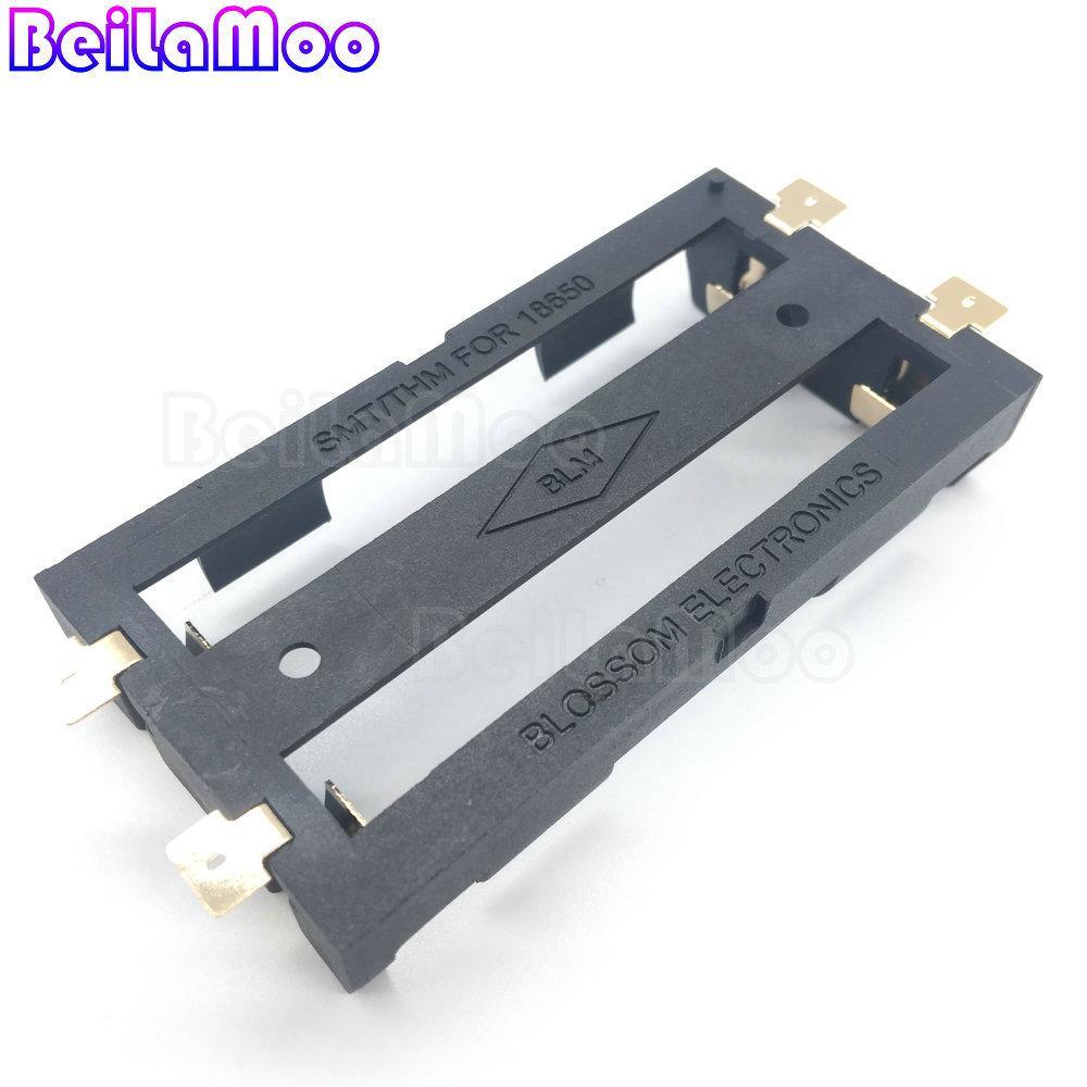 贴片式18650锂电池盒双节 4