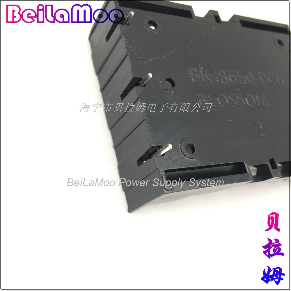 PC PINS Battery Holder 18650X3 Cells 6
